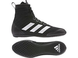 Adidas Speedex 18 Boxing Boots Black/White