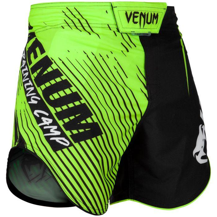 Venum Training Camp 2.0 Fight Shorts - Black/Neo Yellow