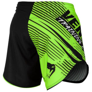 Venum Training Camp 2.0 Fight Shorts - Black/Neo Yellow - Fightstore Pro