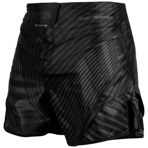 Venum Plasma Fight Shorts - Black/Black
