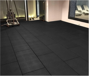 Cannons UK Flatline BeFit Rubber Gym Flooring 1m x 50cm x 20mm