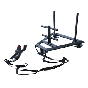 Primal Strength Stealth Commercial Fitness Premium Prowler Sled (Matte Black)