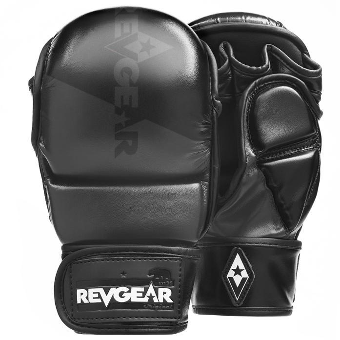 Revgear PINNACLE MMA SPARRING GLOVES - BLACK/BLACK
