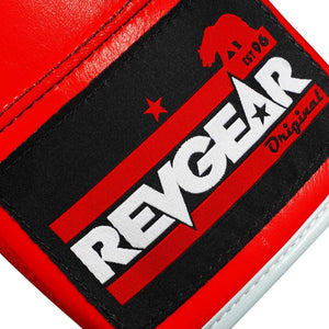 Professional Competition Boxing Gloves - Red/White - Fightstore Pro