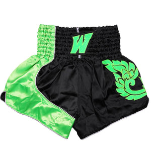 D.E Fit Special Muay Thai Shorts - Green - Fightstore Pro