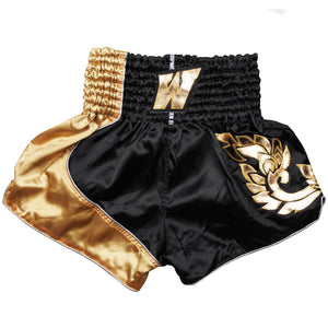 D.E Fit Special Muay Thai Shorts - Gold - Fightstore Pro