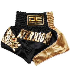 D.E Fit Special Muay Thai Shorts - Gold