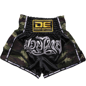D.E Fit Special Muay Thai Shorts - Camo - Fightstore Pro