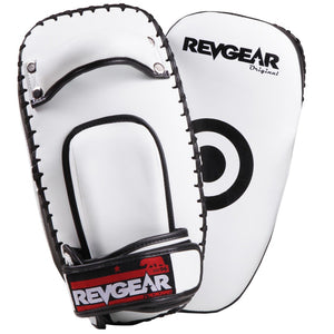 Original Thai Kick Pads - White - Fightstore Pro