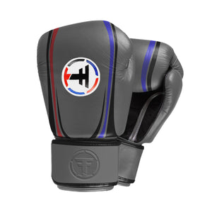 Thai Fighter Boxing Gloves - Grey
