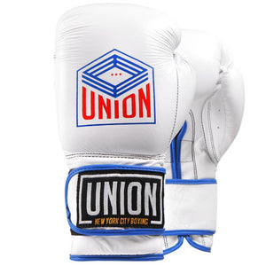 Union Boxing Gloves - White - Fightstore Pro
