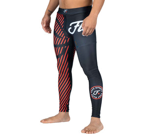 Fuji Sports Script Spats - Red