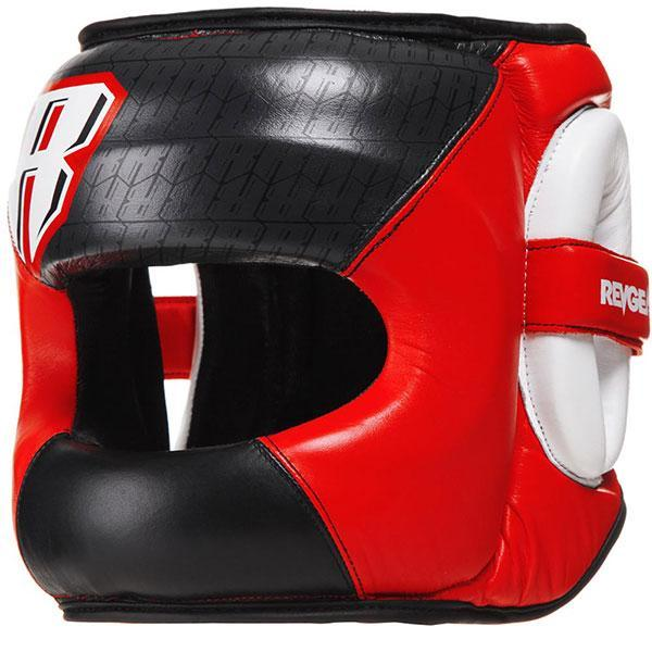 Revgear Guvnor Face Saver Head guard - Red