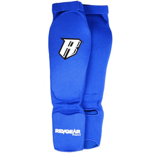 Amateur Muay Thai Shin Guards - Blue