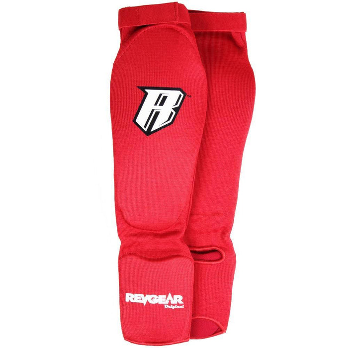 Amateur Muay Thai Shin Guards - Red