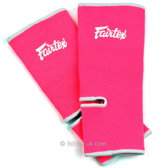 Fairtex AS1 Ankle Supports Pink White