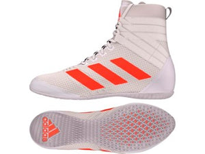 Adidas Speedex 18 Boxing Boots White