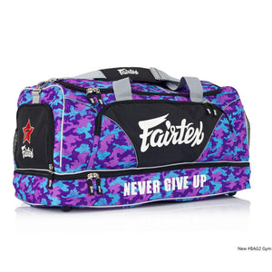 Fairtex BAG2 Purple Camo Heavy Duty Gym Bag - Fightstore Pro