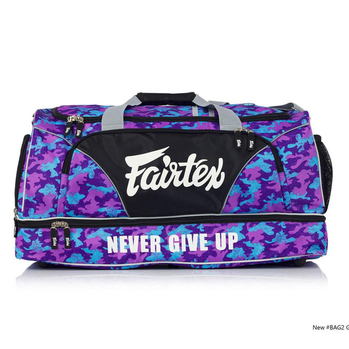 Fairtex BAG2 Purple Camo Heavy Duty Gym Bag