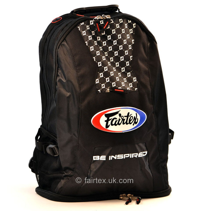 Fairtex BAG4 Black Rucksack Gym Bag