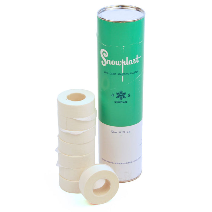 Twins PS1-T Snowplast Zinc Oxide Boxing Tape - Tube of 12