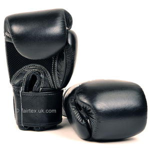 Fairtex Breathable Boxing Gloves Black 2