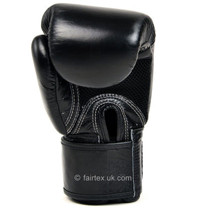 Fairtex Breathable Boxing Gloves Black 7