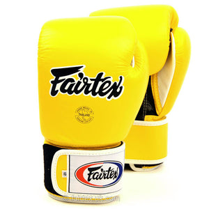 Fairtex Boxing Gloves - BGV1 Yellow