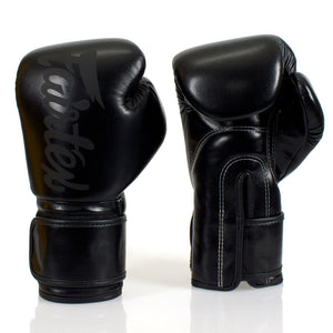 BGV14 Fairtex Black Microfiber Gloves