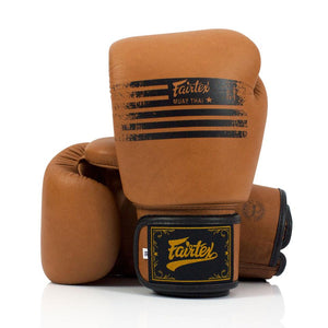 Fairtex BGV21 Legacy Boxing Gloves - Brown - Fightstore Pro