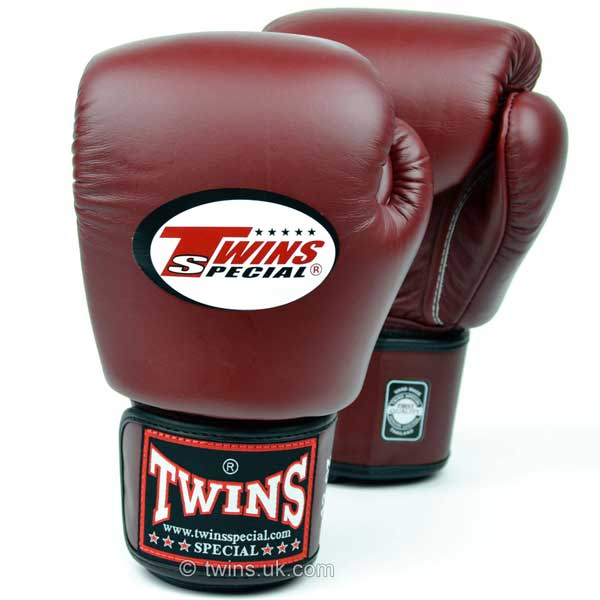 Twins Special Boxing Gloves Burgundy