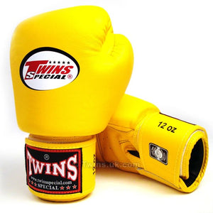 Twins Special Boxing Gloves Yellow