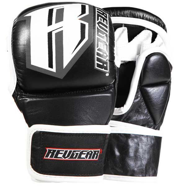 Revgear CLASSIC MMA SPARRING GLOVES - 6OZ - BLACK/GREY