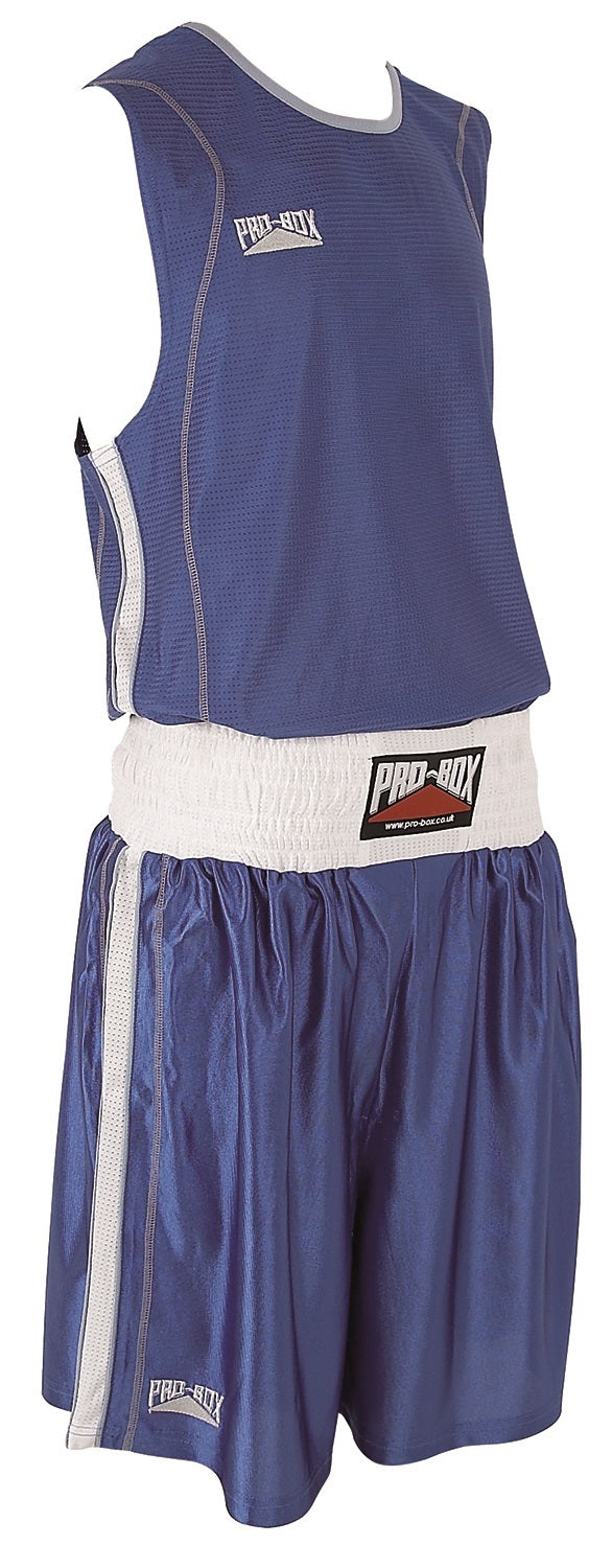 Pro Box Body Tec Boxing Shorts - Blue