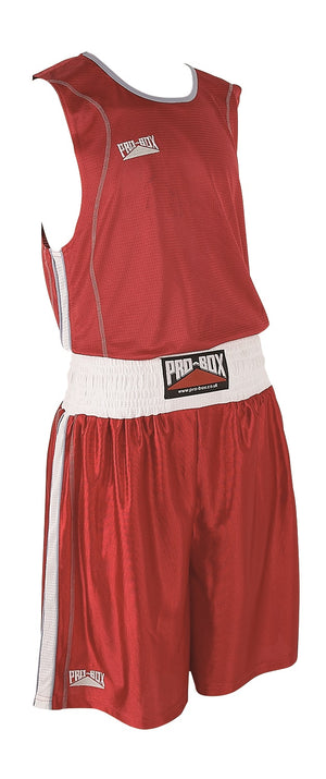 Pro Box Body Tec Boxing Vest - Red