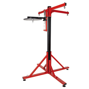 Pro Box Colossus Four Station Bag Frames - Three Punchbag Arms and Speedball Platform 2