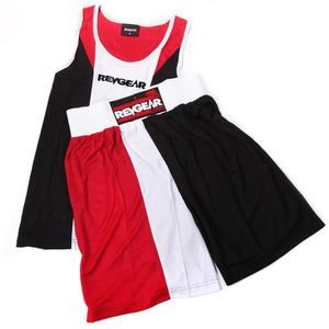 Revgear Tri Colour Boxing Kit - Red - Fightstore Pro