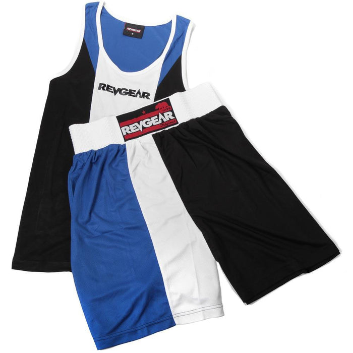 Revgear Tri Colour Boxing Kit - Blue