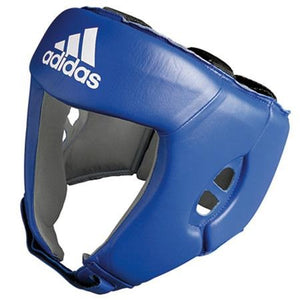Adidas A.I.B.A Licensed Amateur Contest Head Guards - Blue