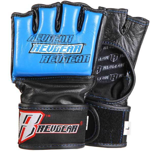Challenger MMA Gloves - 4oz Competition Blue