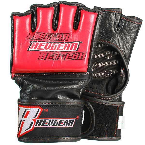 Revgear Challenger MMA Gloves - 4oz Competition Red