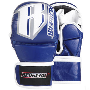 Classic MMA Sparring Gloves - 6oz - Blue - Fightstore Pro