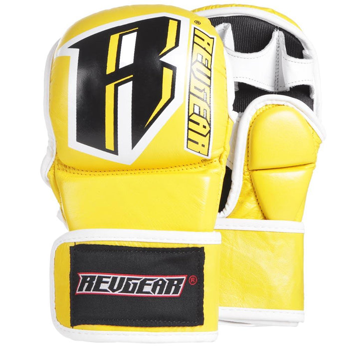Revgear Classic MMA Sparring Gloves - 6oz - Yellow