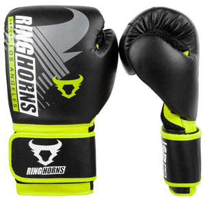 Venum Ringhorns Charger MX Boxing Gloves - Black/Neo