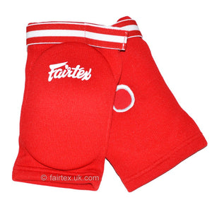 Fairtex EBE Red Competition Elbow Pads 1