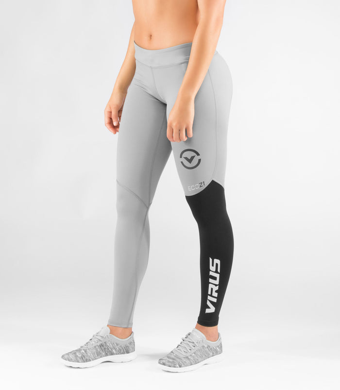 Virus Womens StayCool V2 Compression Pant Grey/Black