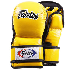 Fairtex MMA Sparring Gloves FGV15 - Yellow - Fightstore Pro