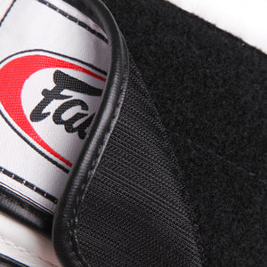 Fairtex BGV9 Mexican Style Boxing Gloves White-Red 5