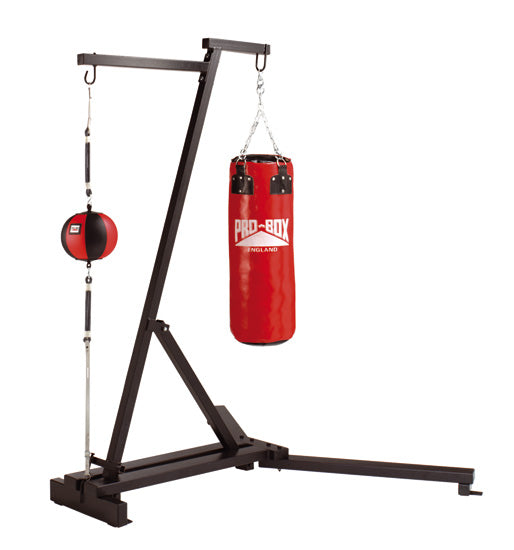 Pro Box Free Standing Punch Bag Frame with Floor to Ceiling Ball Option