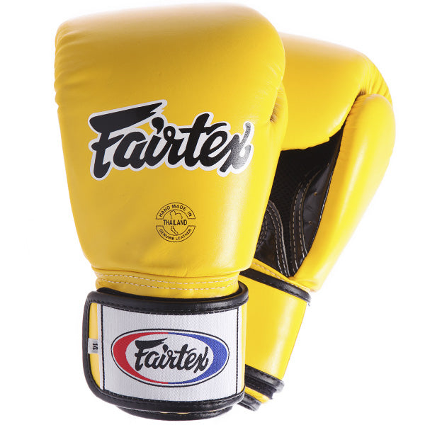 Fairtex BGV1 Boxing Gloves Yellow